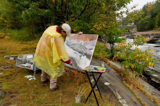 Pierre AJ Sabourin painting