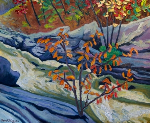 Hope Whispered (Knoefli Falls) by Pierre AJ Sabourin