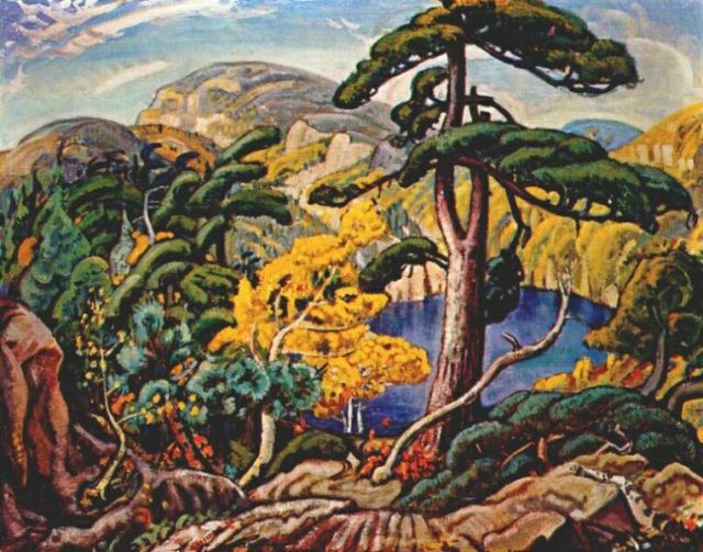 Bright Land by Arthur Lismer