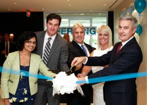 Ferring Canada Ribbon Cutting with Executive Staff