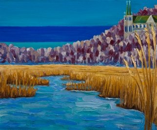 Wye Marsh 30 x 40 oil on canvas