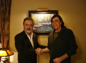 Jean Jacques Quivogne et Pierre AJ Sabourin