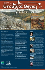 Killarney Provincial Park Group of Seven Festival