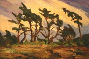 Georgian Bay Trees by Pierre AJ Sabourin